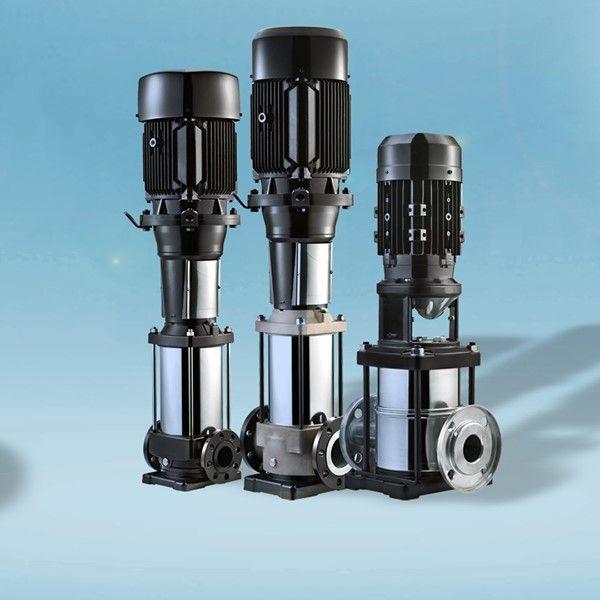 Ampliación de gama de bombas multietapa verticales de Hydrosystem