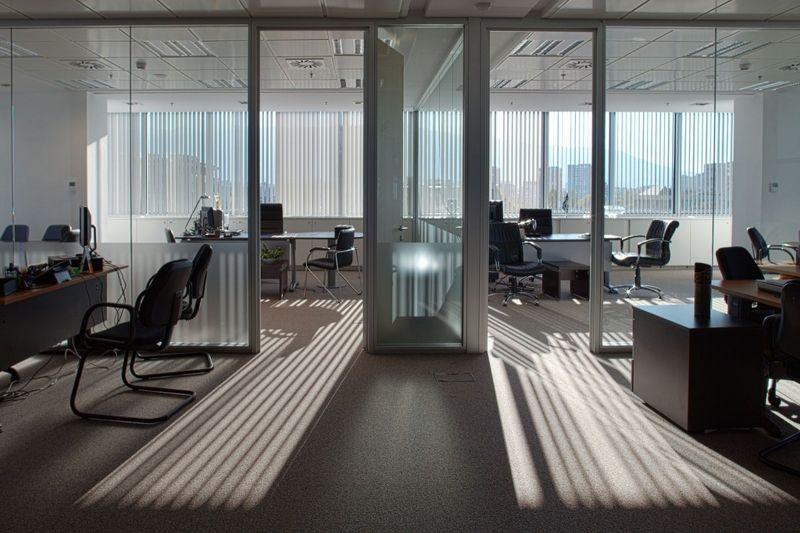 oficina aire acondicionado